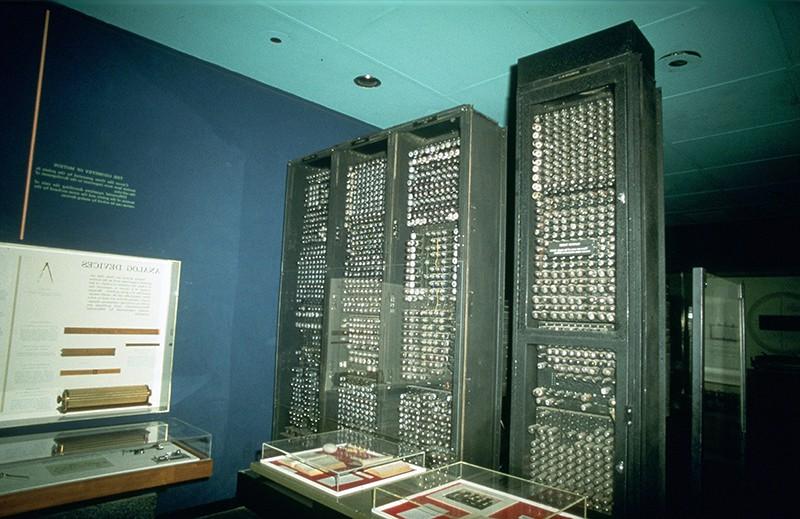 Цифровой компьютер ENIAC. 1946 год