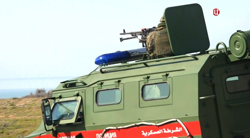 Военная полиция на авиабазе Хмеймим