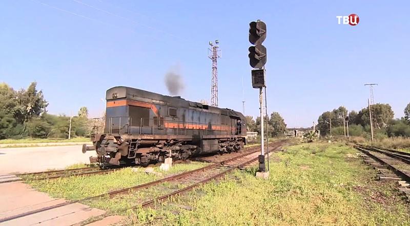 Поезд в Сирии