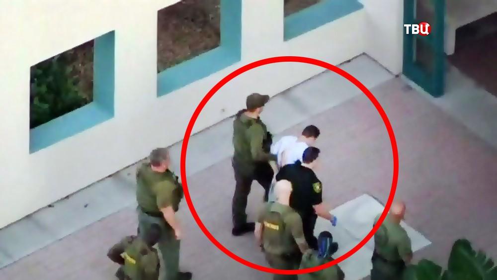 Николас Круз, устроивший стрельбу в школе во Флориде