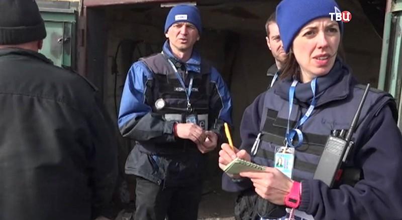 Наблюдатели ОБСЕ