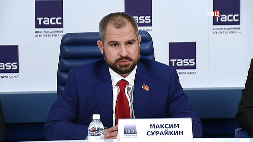 """Кандидат от партии """"Коммунисты России"""" Максим Сурайкин"""
