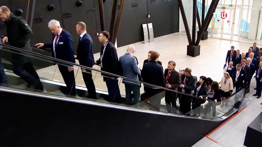 Участники Российского инвестиционного форума