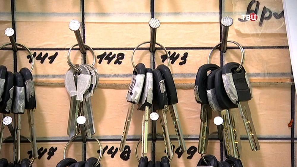 Ключи от готовых квартир