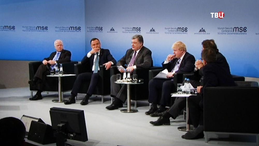 Участники конференции по безопасности в Мюнхене