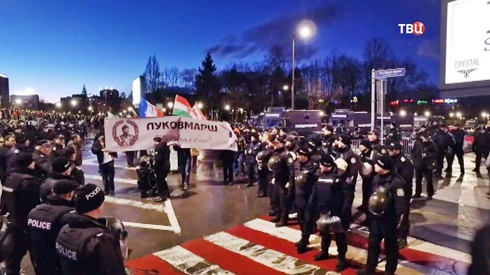 Марш радикалов в Болгарии