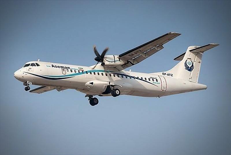 Самолет авиакомпании Iran Aseman Airlines