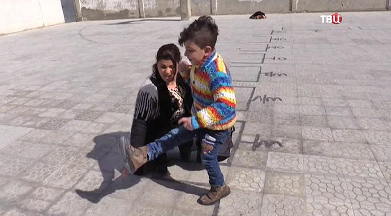 Шахин Саес и его мама