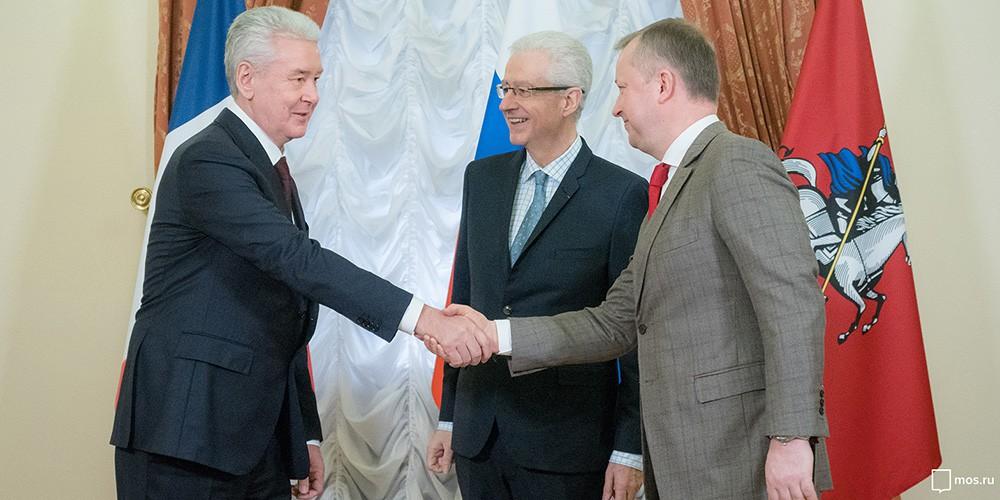 На встрече с представителями экономического совета Франко-Российской торгово-промышленной палаты
