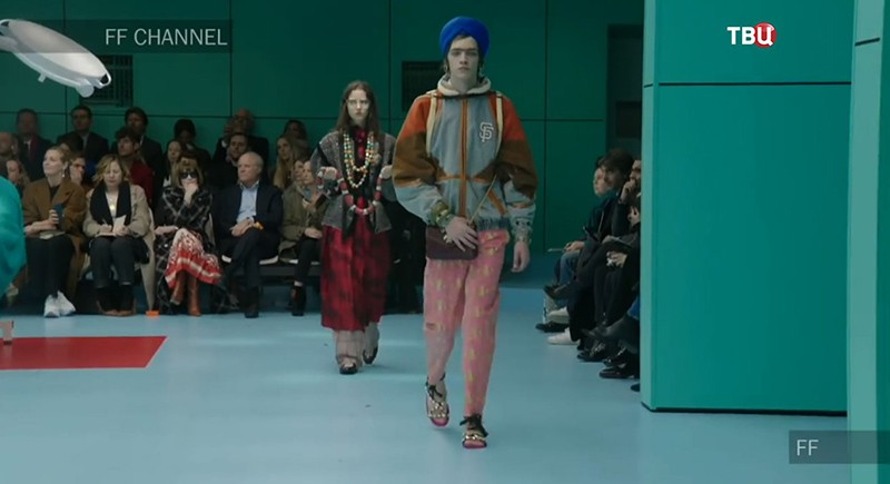 Показ мод Gucci