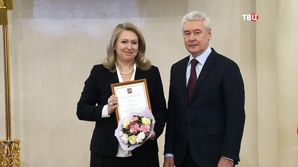 Сергей Собянин на церемонии награждения лидеров некоммерческих организаций