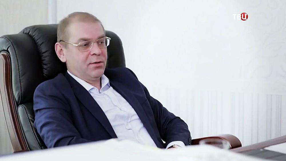 Депктат парламента Украины Сергей Пашинский