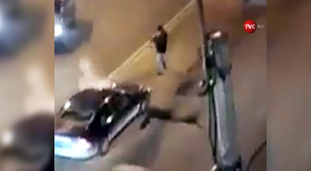 Дорожный конфликт перерос в стрельбу в Санкт-Петербурге