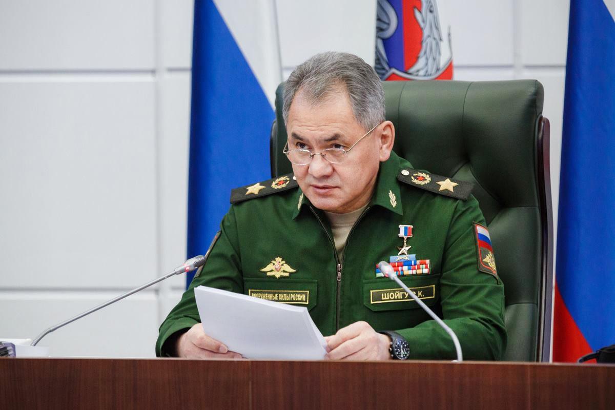 Глава Минобороны России Сергей Шойгу