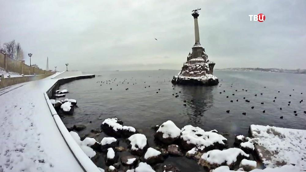 Набережная города Севастополь