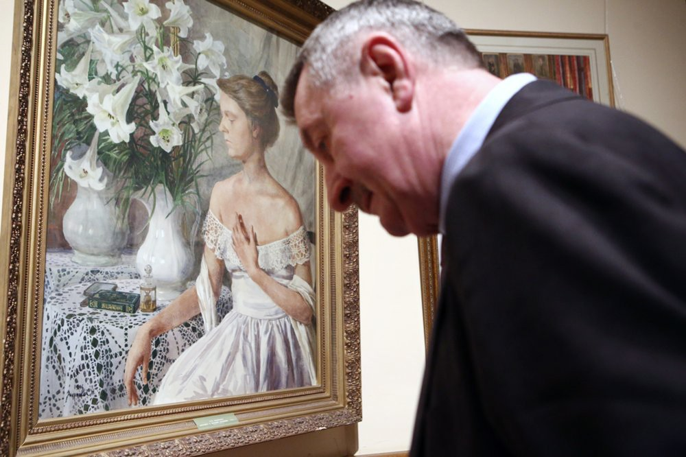 Выставка картин Сергея Андрияки