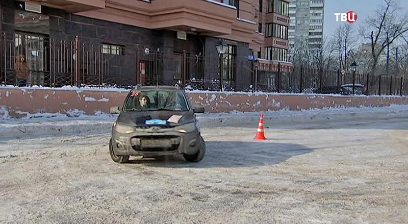 Автомобильное ралли для людей с ограниченными физическими возможностями