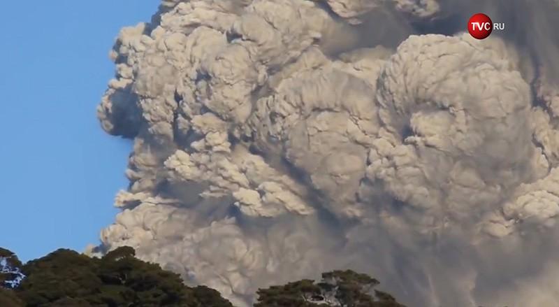 Японский вулкан Симмоэ