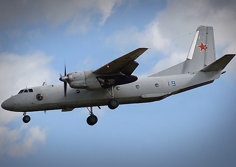 Самолет Ан-26 в Сирии