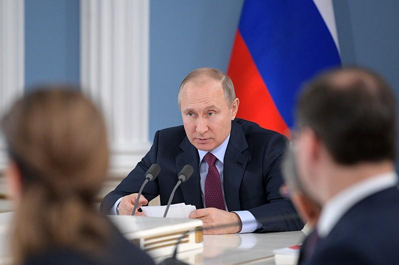 Рабочая поездка Владимира Путина в Самарскую область