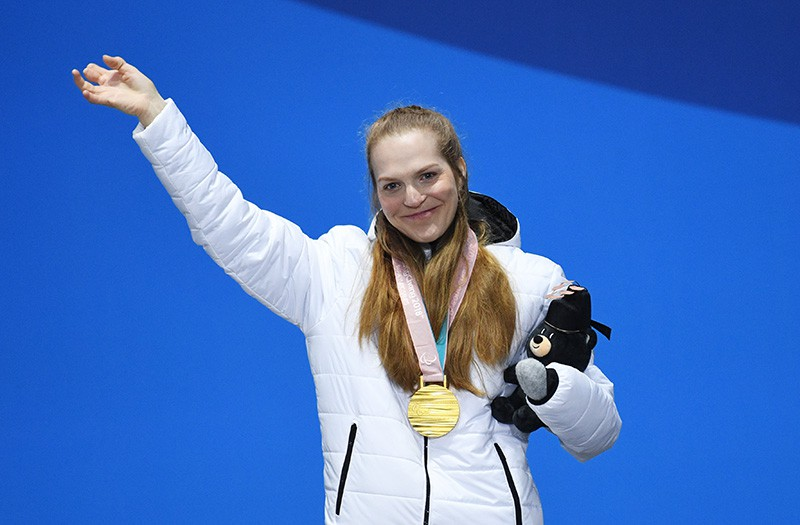 Российская спортсменка Екатерина Румянцева