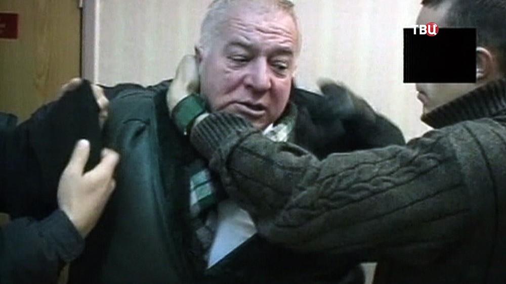 Задержание бывшего сотрудника ГРУ Сергея Скрипаля