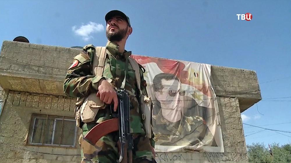 Военнослужащий армии Сирии