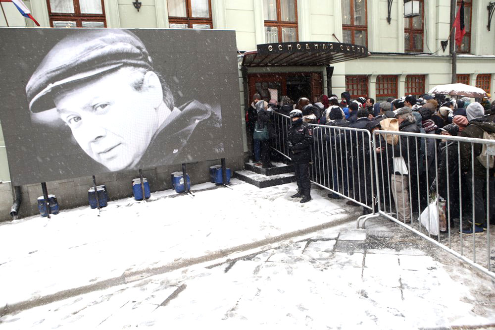 Церемония прощания с актёром и режиссёром Олегом Табаковым
