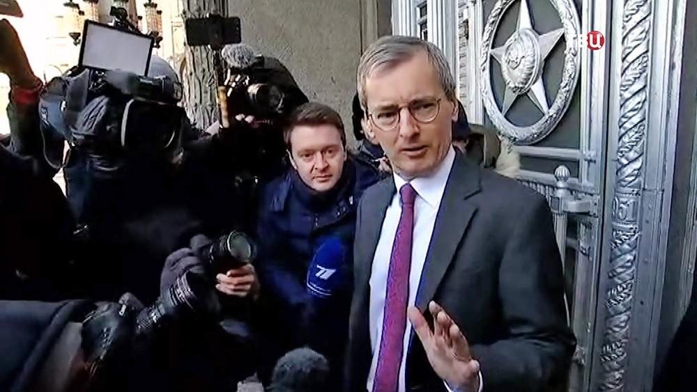 Посол Великобритании в Москве Лори Бристоу
