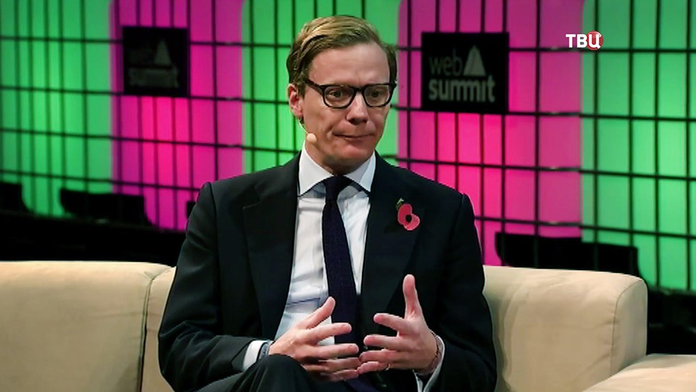 Экс-гендиректор Cambridge Analytica Александр Никс