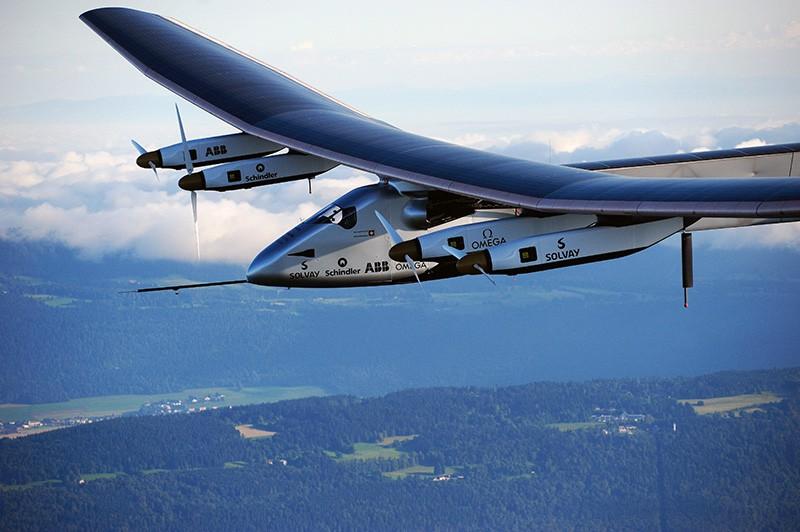 Solar Impulse. Самолет на солнечных батареях. Совершил кругосветный перелет