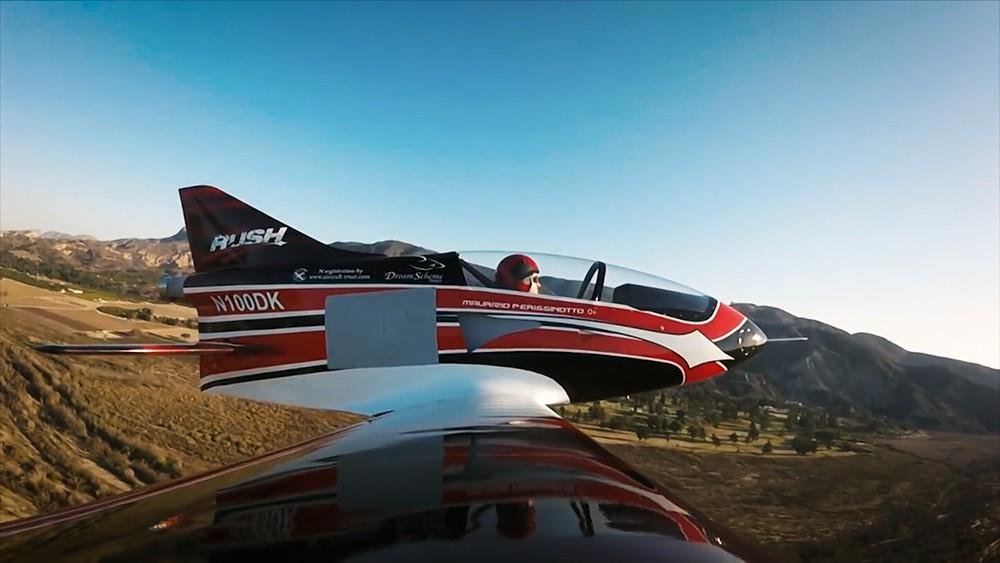 BD-5 Jet. Самый легкий в мире реактивный самолет. Вес - 162,7 кг