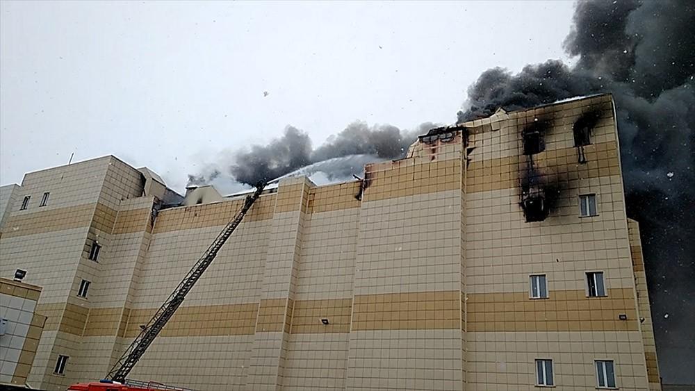 "Пожар в торговом центре ""Зимняя вишня"" в Кемерово"