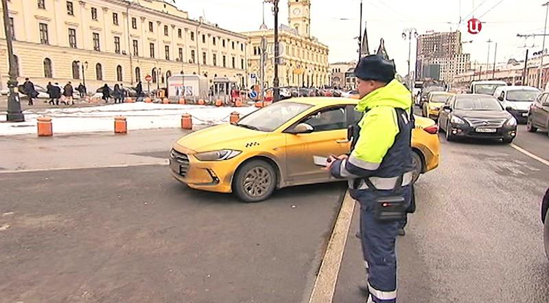Рейд по таксистам