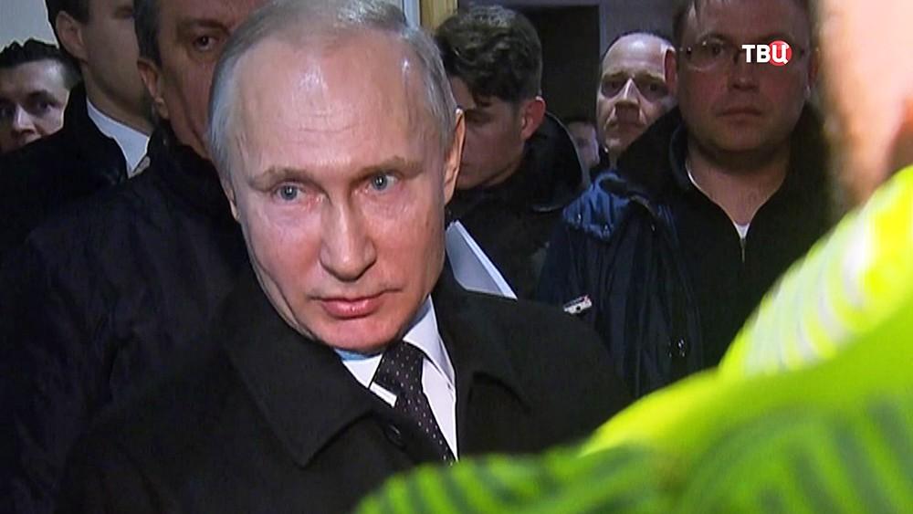 Владимир Путин на встрече с инициативной группой граждан в Кемерове
