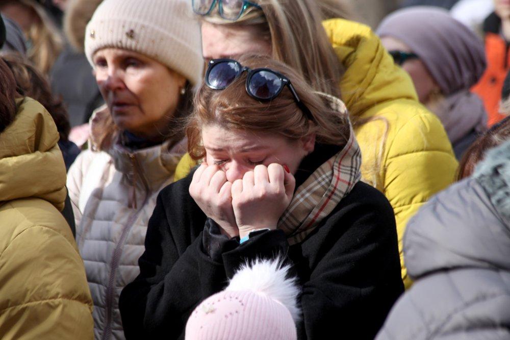 "Акция памяти по погибшим при пожаре в ТЦ ""Зимняя вишня"" в Кемерово"