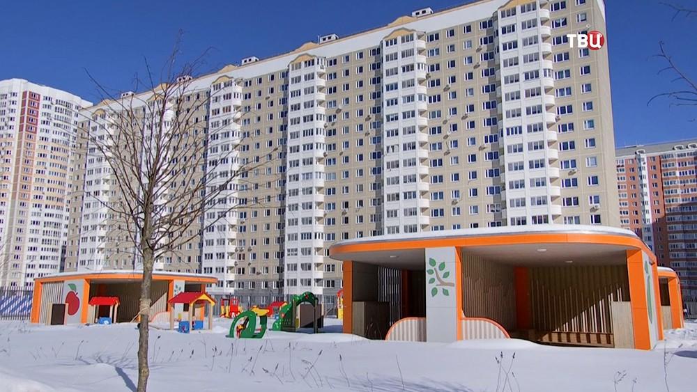 Детский сад в новом микрорайоне