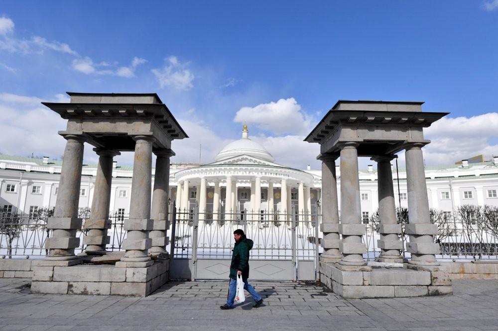 Домовая церковь Троицы Живоначальной при Странноприимном доме графов Шереметьевых после реставрации