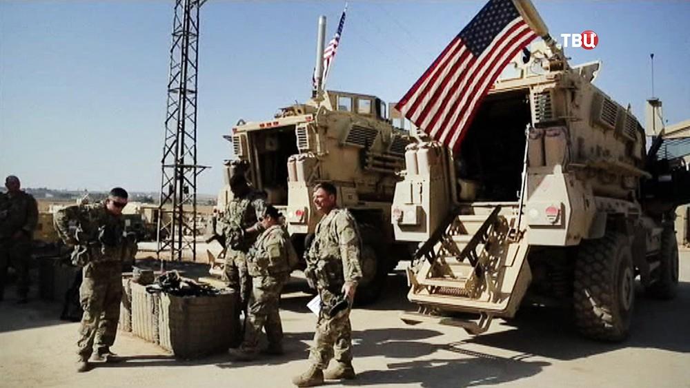 Военнослужащие армии США в Сирии