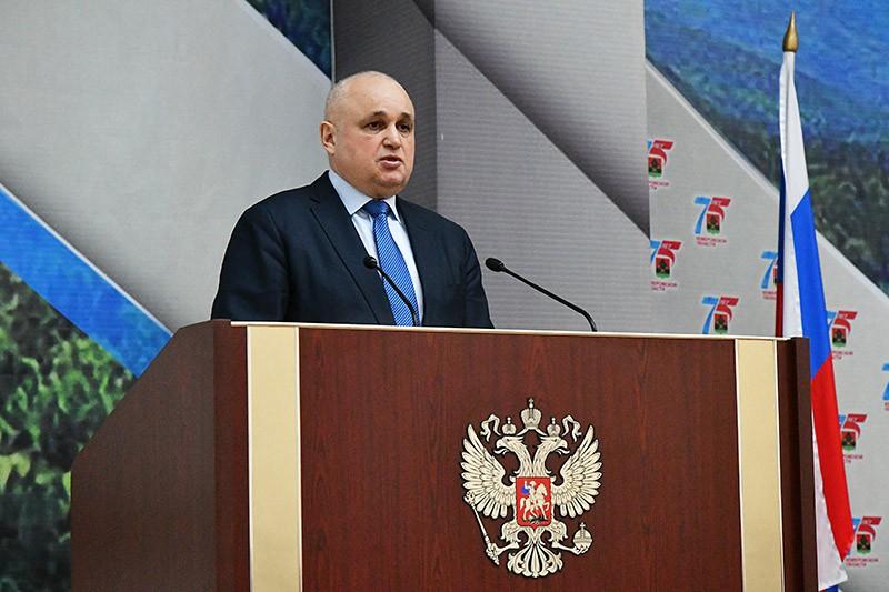 Временно исполняющий обязанности губернатора Кемеровской области Сергей Цивилев