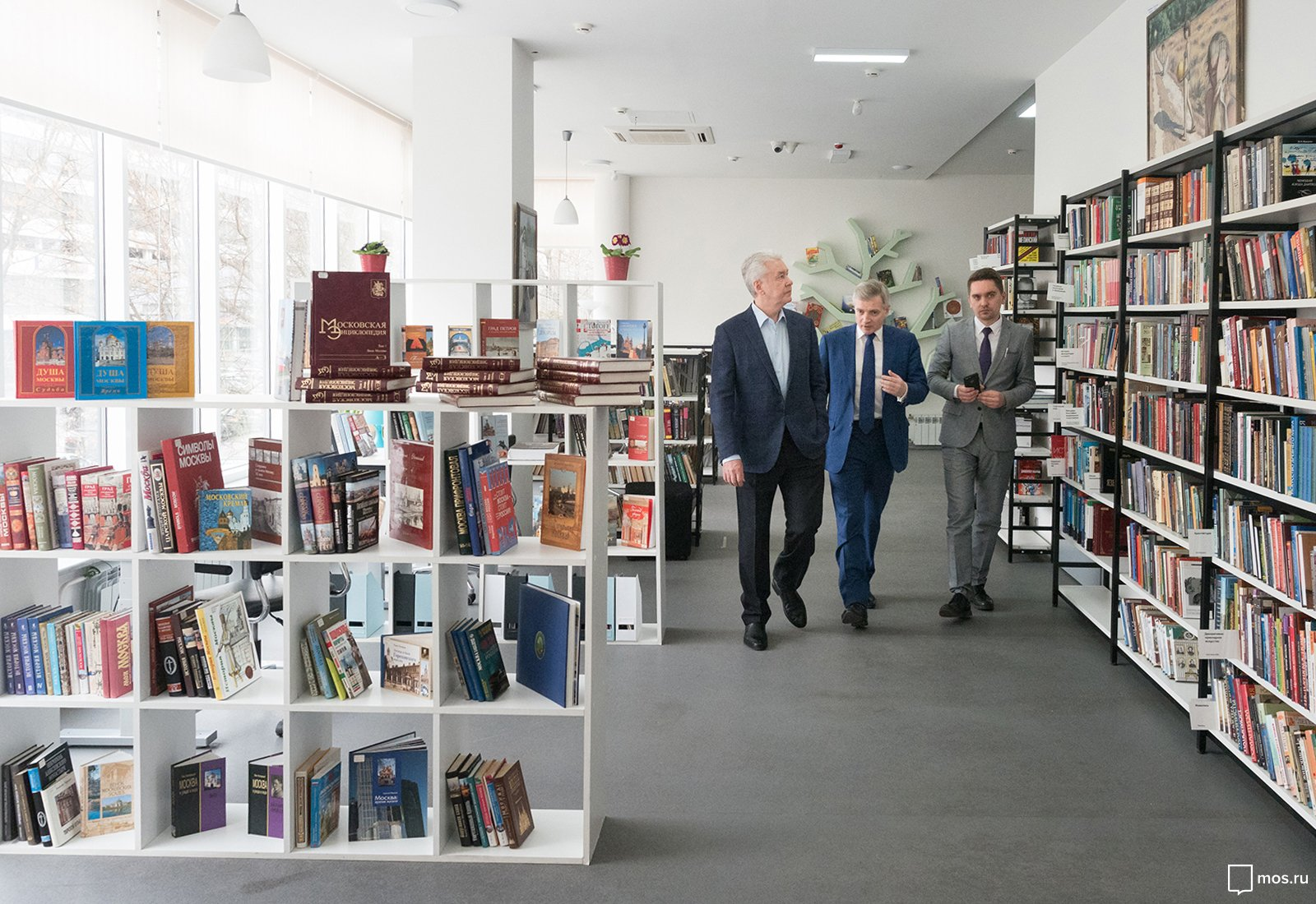 Посещение библиотеки № 67