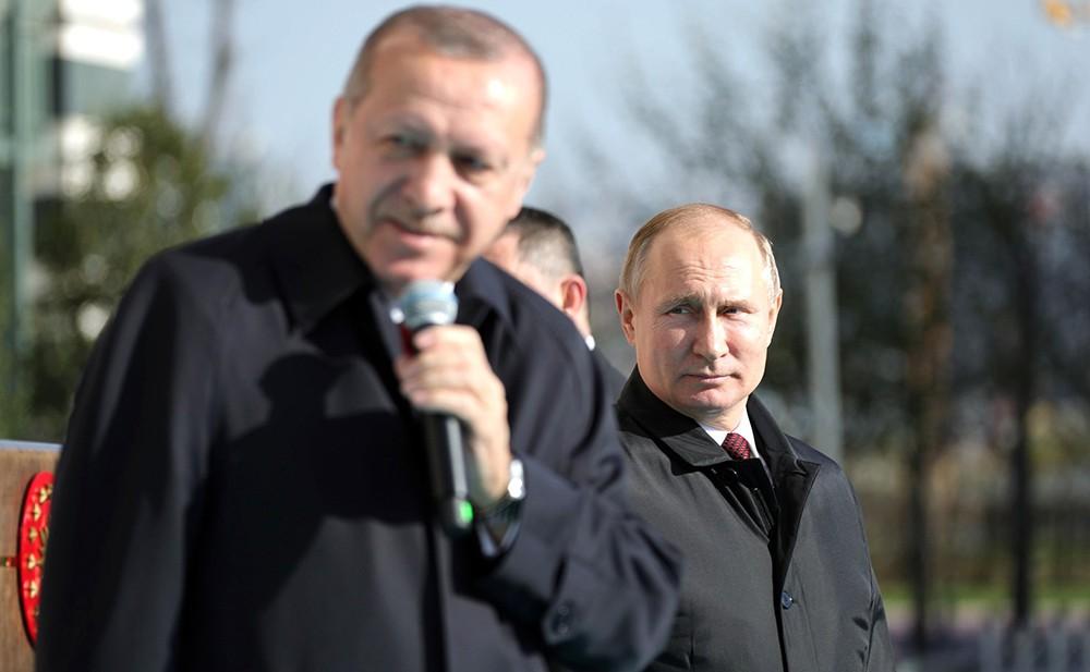 Владимир Путин и Реджеп Эрдоган