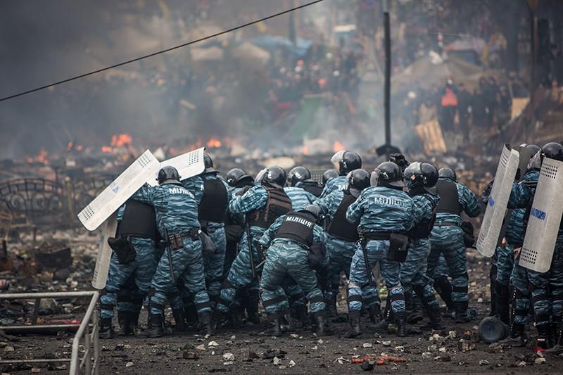 Беспорядки в Киеве. 2014 год