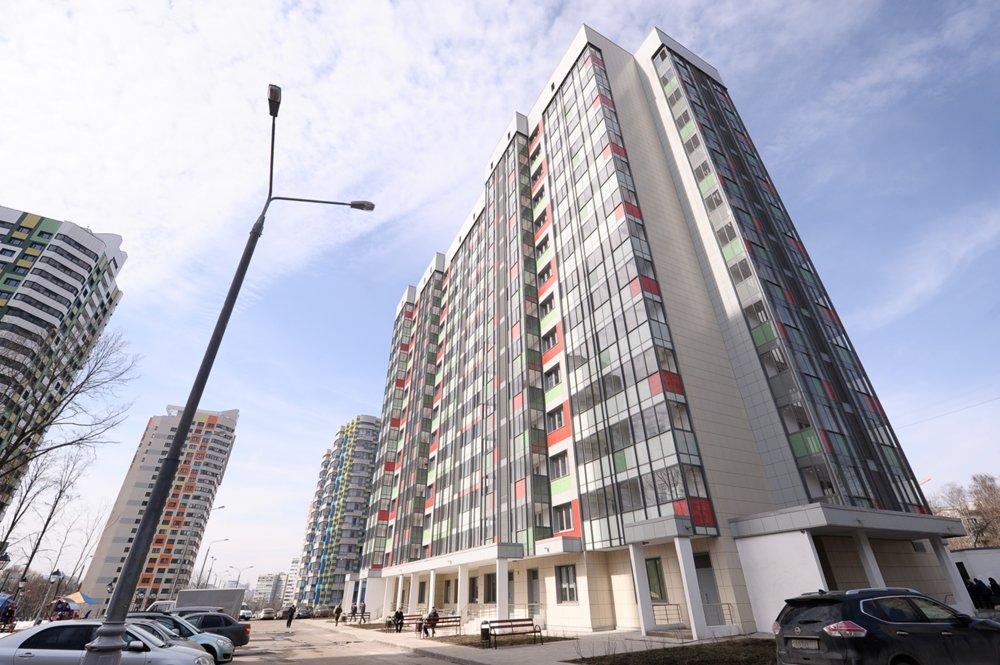 Дом, подготовленный для переселения по программе реновации жилищного фонда в Москве