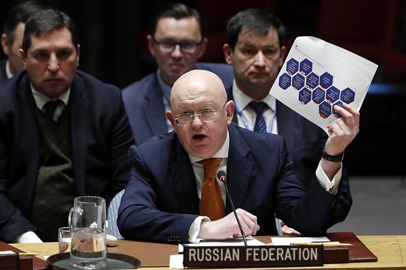 Постоянный представитель Российской Федерации при ООН Василий Небензя