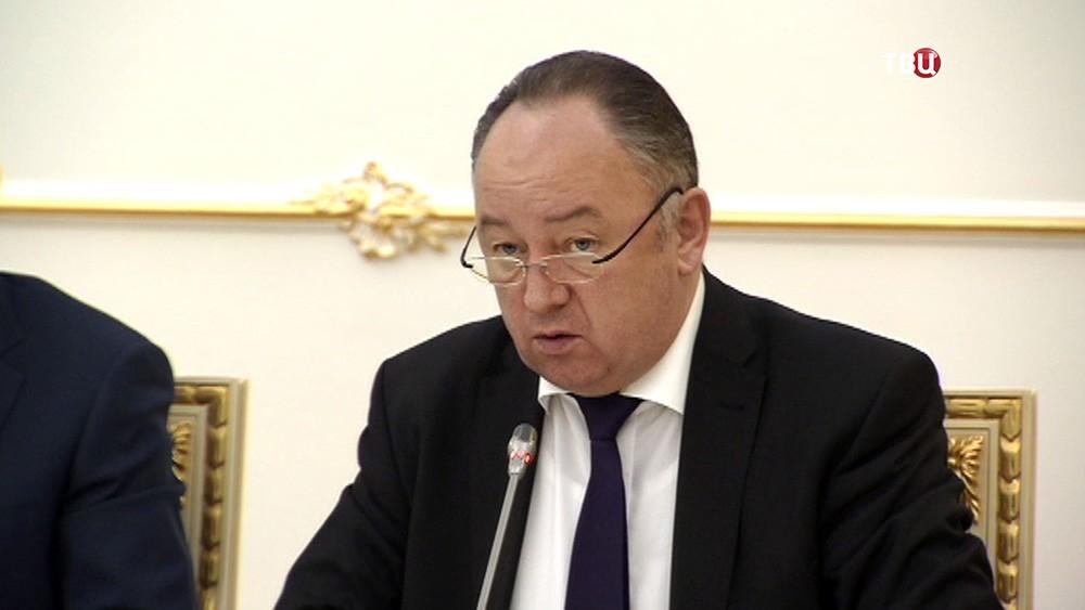 Советник генпрокурора России Николай Атмоньев