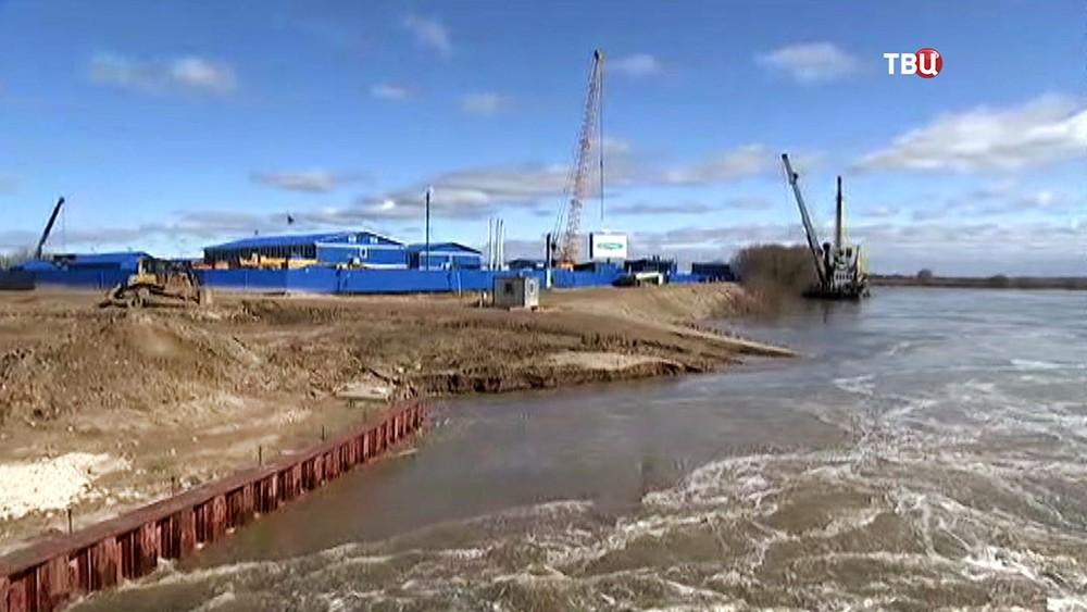 Восстановление плотины
