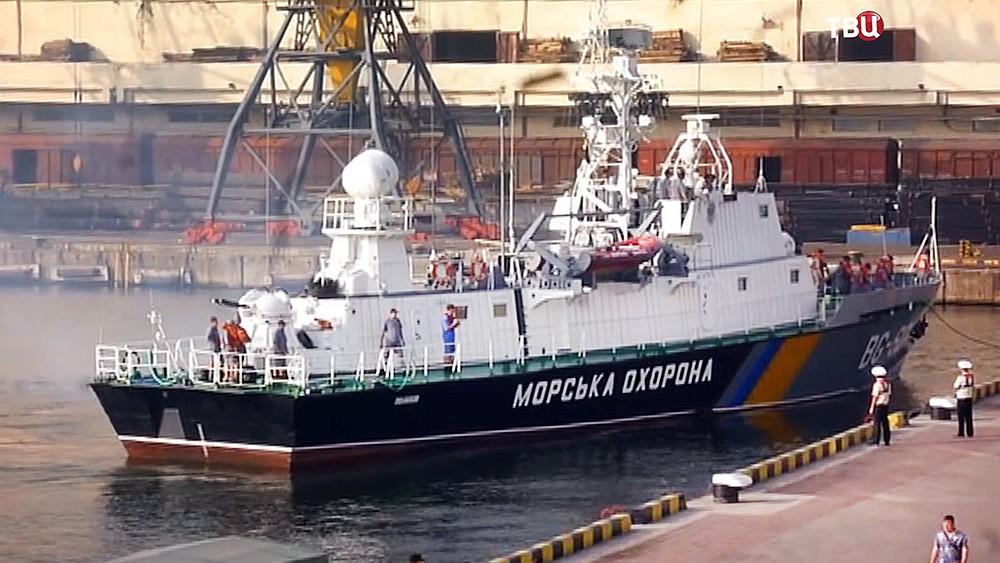 Катер береговой охраны Украины