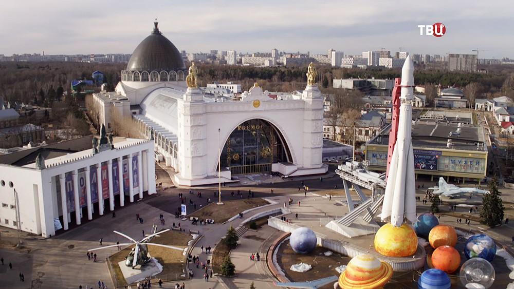 """Павильон """"Космос"""" на ВДНХ"""