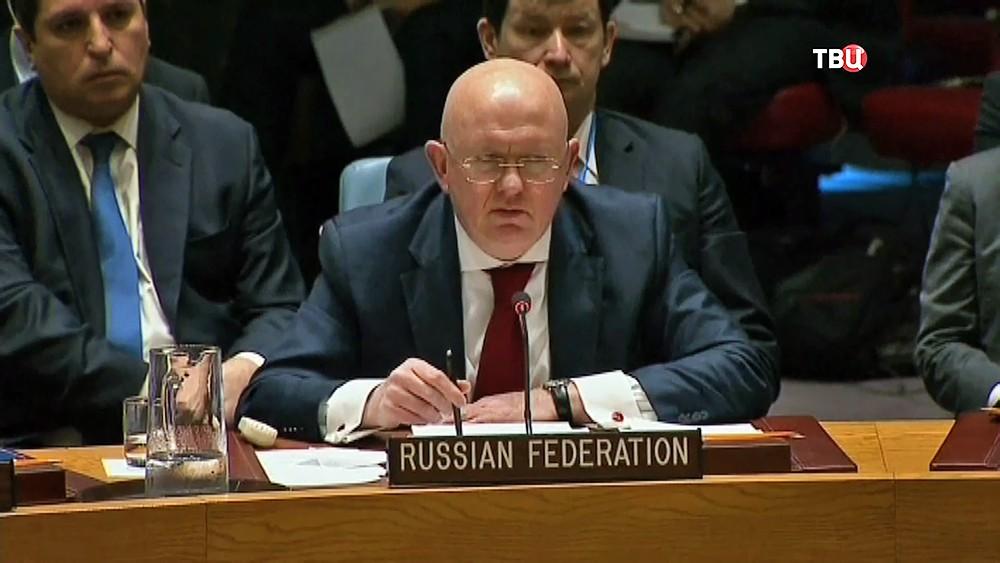 Постпред России при ООН Василий Небензя